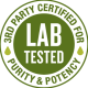Lab Tested - 3rd-Party